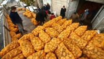 Depodaki patatesini TMO'ya satan Nevşehirli çiftçiler mutlu
