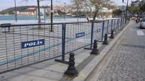 Çanakkale'de sahil ve parklar halka kapatıldı