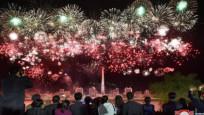 Kuzey Kore'de 'Güneşin Günü' kutlamaları yapıldı
