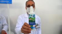 Meslek lisesinde yüzde yüz doğal dezenfektan üretildi