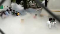 Hindistan'da 22 hasta oksijensiz kalarak can verdi
