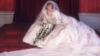 Prenses Diana'nın gelinliği 25 yıl sonra sergilenecek