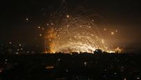 Gazze'den İsrail'e 130 roket fırlatıldı