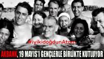 Akbank, 19 Mayıs'ı gençlerle birlikte kutluyor