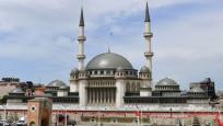 Taksim Camisi kılınan ilk cuma namazı ile ibadete açıldı