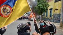 Kolombiya yangın yeri! Protestolar devam ediyor...