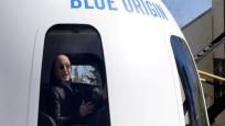 Uzay yolculuğunda Bezos'un yanındaki koltuk 28 milyon dolara satıldı