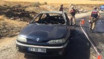Yanan aracın yanında not bulundu: 4 bombayı ben patlattım