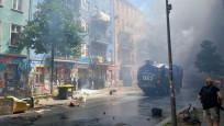 Berlin sokakları karıştı: 60 polis yaralandı