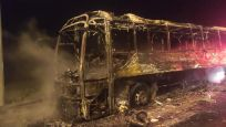 Otobüste dehşet! Yolcular son anda tahliye edilebildi