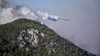 Hatay ve Mersin'de orman yangını! 50 ev tahliye edildi...