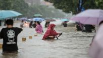 Çin'de 'bin yılın en şiddetli yağmuru'