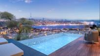 Nişantaşı'nda yeni lüks terasınızda Boğaz manzaralı havuz keyfi