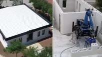 3D yazıcı ile basılan Türkiye'nin ilk evi