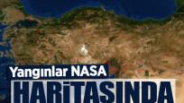 Türkiye'de süren orman yangınları NASA'nın uydu görüntülerinde tespit edildi