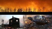 Dünya, Türkiye'yi bu fotoğraflarla gördü: Olağandışı yangınlar!