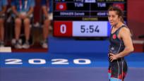 Milli güreşçi Yasemin Adar bronz madalya mücadelesi hakkı elde etti