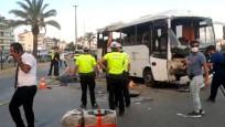 Rus turistleri taşıyan otobüs devrildi: Çok sayıda ölü ve yaralı var