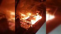 İstanbul'da restorandaki patlama kamerada