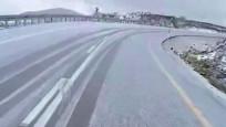 İlk kar Erzurum'a düştü, yollar beyaza büründü