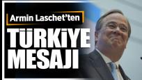 Almanya'da başbakan adaylarından Laschet'ten Türkiye mesajı