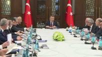 Cumhurbaşkanlığı Külliyesi'nde vergi düzenlemesi toplantısı
