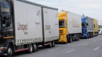 Türkiye'den Rus TIR'larına yasak