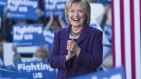 ABD seçimlerinde Clinton önde