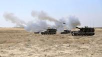 Obüsler IŞİD hedeflerini vurdu