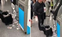 İngiltere'de bir ATM para saçtı