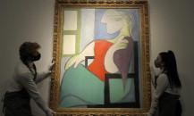Picasso'nun tablosu 103,4 milyon dolara satıldı