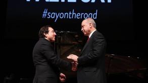 Cumhurbaşkanı Erdoğan Fazıl Say konserini izledi