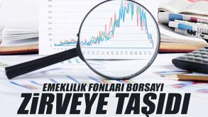 Emeklilik fonları Borsa İstanbul'u zirveye taşıdı