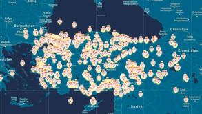 Türkiye'nin utanç haritası