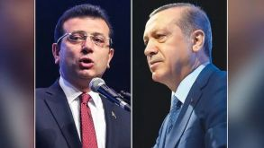 İBB Başkanı İmamoğlu, Erdoğan'ı karşıladı