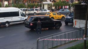 İstanbul'un göbeğinde lüks cipe kurşun yağdırdılar