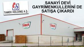 Tamek Holding borç yapılandırmasına hazırlanıyor