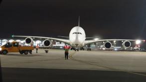 Dev uçak İstanbul'a acil iniş yaptı