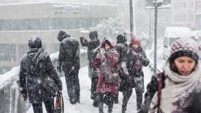 Meteoroloji uyardı! İstanbul'a kar geliyor