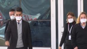 Acil servis kapatıldı, herkese maske dağıtıldı