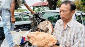 Taylandlı balıkçının 2.4 milyon pound değerindeki keşfi
