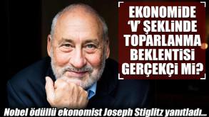 Stiglitz: V şeklinde bir toparlanma büyük ihtimalle fantezi
