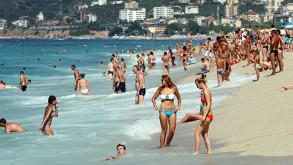 Rus turist, turizmcinin yüzünü güldürdü