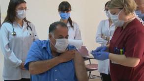 Cerrahpaşa'da aşı denemeleri başladı