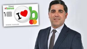 Garanti BBVA'dan Türkiye'nin kart bilgileri gizli son teknoloji kredi kartı Bonus Diji