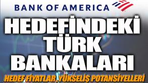 BOFA'dan Türk bankacılık hisselerinde fiyat güncellemesi