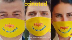 'Aşılandım' maskeli video yayından kaldırıldı