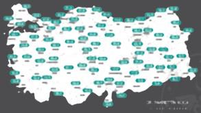 İşte vaka sayıları en çok azalan kentler!