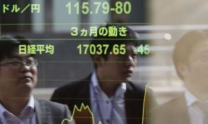"""Asya hisse senetleri """"teknoloji tansiyonuyla"""" karışık seyretti"""