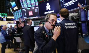 New York borsası şirket kazançlarıyla yükseldi